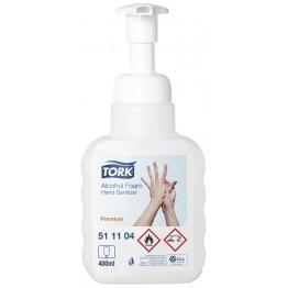 Tork alkoholos kézfertőtlenítő hab 400ml/12(átlátszó)