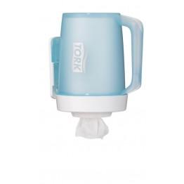 Tork mini hordozható adagolású törlőkhöz+dokkoló (fehér/türkiz)