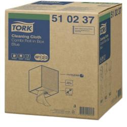 Tork tisztítókendő, dobozos kombi tekercses, W1/W2/W3