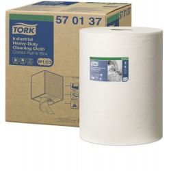 Tork ipari nagyteljesítményű tisztítókendő, kombi tekercses, W1/W2/W3