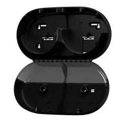 Tork SmartOne® Mini duplatekercses toalettpapír-adagoló (fekete) T9