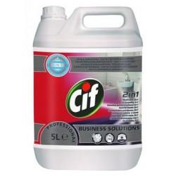 CIF Prof.Washroom 2in1 /szaniter tisztítószer/(5l)
