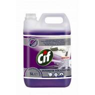 CIF Prof.2in1 Cleaner Disinfectant /tisztító- és fertőtlenítőszer/(5l)