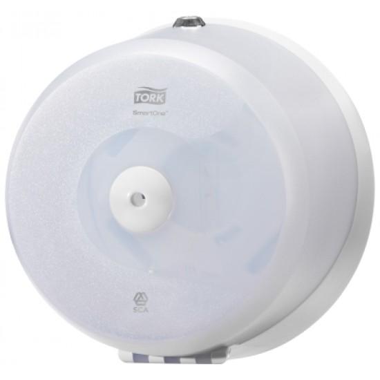 Tork SmartOne® Mini toalettpapír-adagoló (fehér) KIFUTÓ TERMÉK, CSAK A KÉSZLET EREJÉIG RENDELHETŐ!