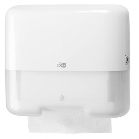 Tork Mini adagoló Singlefold Z és C hajtogatású kéztörlőhöz (fehér) H3