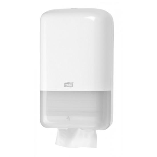 Tork Folded toalettpapír-adagoló (fehér) T3