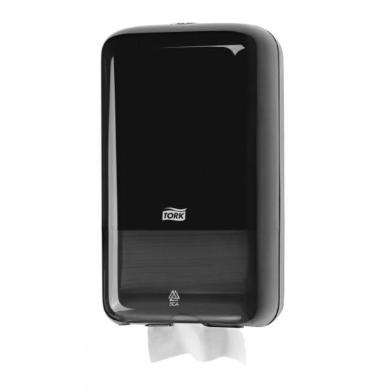 Tork Folded toalettpapír-adagoló (fekete) T3