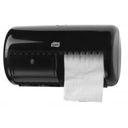 Tork kistekercses toalettpapír-adagoló (fekete) T4