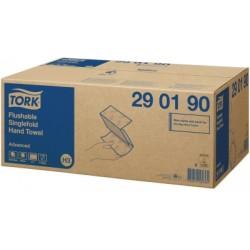 Tork toalettbe dobható Singlefold kéztörlő H3