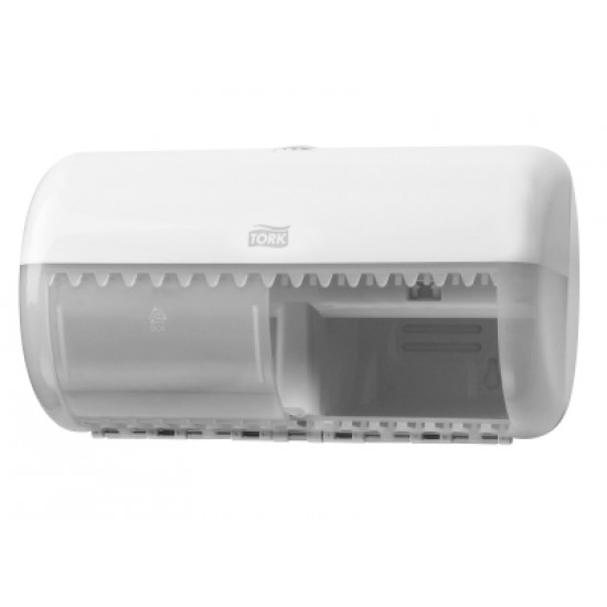 Tork kistekercses toalettpapír-adagoló (fehér) T4