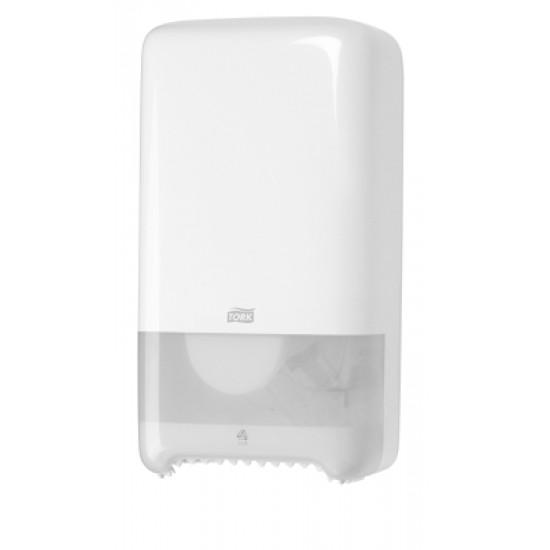 Tork duplatekercses Mild-size toalettpapír-adagoló (fehér) T6