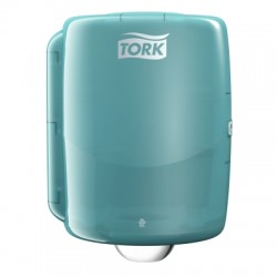 Tork maxi adagoló belsőmag adagolású törlőkhöz (fehér/türkiz), W2