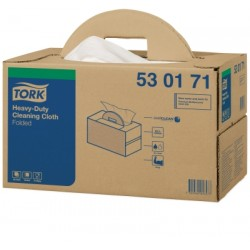 Tork nagyteljesítményű tisztítókendő, hajtogatott-hordozható doboz, W7