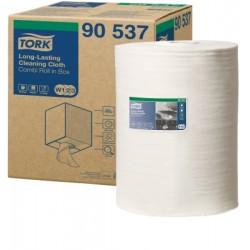 Tork többször használható tisztítókendő, dobozos kombi tekercs, W1/W2/W3